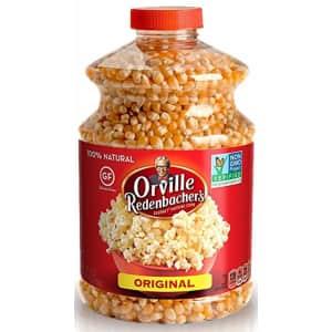 Orville Redenbacher's Original Gourmet 30-oz. Yellow Popcorn Kernels for $3.99 via Sub & Save