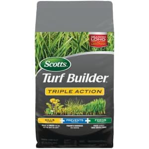 Scotts Turf Builder Triple Action 20-lb. Bag for $29