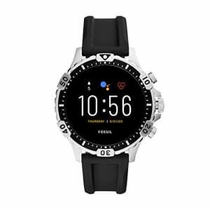 Fossil Gen 5 Garrett HR Heart Rate Stainless Steel Touchscreen Smartwatch, Color: Gunmetal (Model: for $179