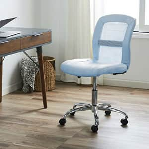 Serta Essential Mesh Low-Back Computer Desk Task Chair with No Arms for Home Office or Conference for $150