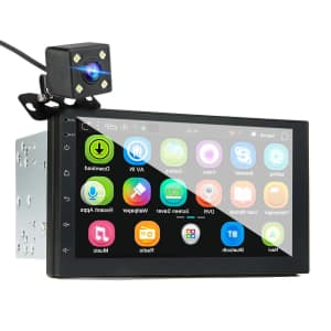 """iMars 7"""" Touchscreen 2 Din Car Stereo and Backup Camera Kit for $65"""