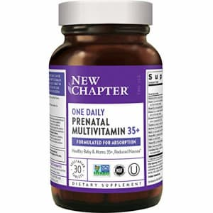 New Chapter Prenatal Vitamins Prenatal Multivitamin with Methylfolate + Choline for Healthy Mom and for $25