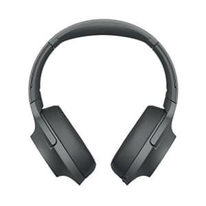 Sony - H900N Hi-Res Noise Cancelling Wireless Headphone Grayish Black Renewed for $110
