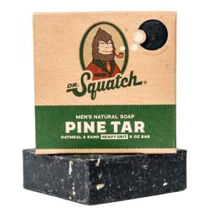 Dr. Squatch Men's Pine Tar Soap for $9