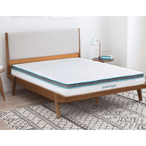 "LinenSpa 8"" Memory Foam and Innerspring Hybrid Mattress from $100"