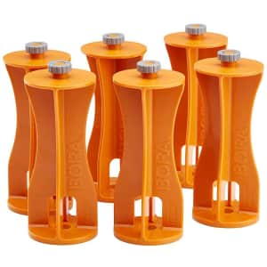 Bora Centipede 6-Piece Risers Set for $22