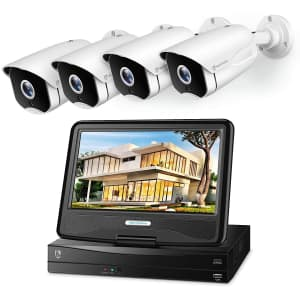 Heimvision 8-Channel 1080p 4-Camera NVR Security System for $250