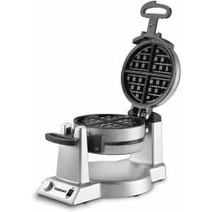 Cuisinart Rotating Double Belgian Waffle Maker for $75