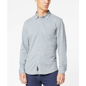 Dockers Men's Alpha Button-Up Slim-Fit Shirt for $12
