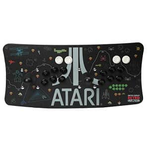 Inland Atari Arcade Fightstick USB Dual Joystick 2 Player Game Controller for PC Mac Raspberry Pi Console for $115