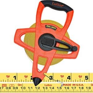 "Crescent Lufkin 1/2"" x 60m/200' Hi-Viz Orange Fiberglass SAE/Metric Dual Sided Tape Measure - for $29"