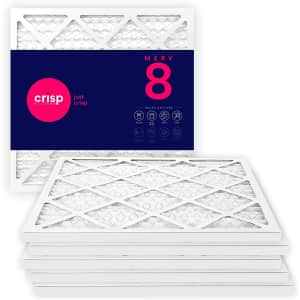 Crisp AC / Furnace Air Filters MERV 8 6-Pack from $24