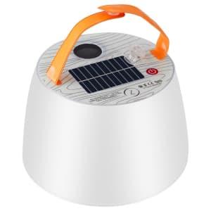 Joytutus Inflatable Color Solar Lamp w/ Bluetooth Speaker for $22