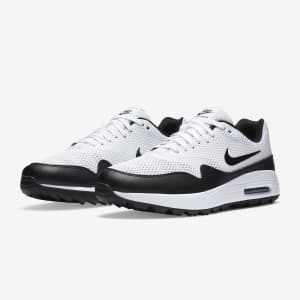 Nike Air Max Men's 1 G Golf Shoes for $68