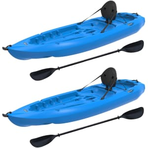 Lifetime Lotus Sit-On-Top Kayak w/ Paddle 2-Pack for $478