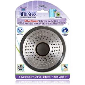 ShowerShroom Shower Drain Hair Catcher for $14