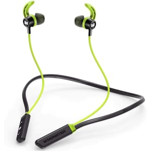 Monster iSport Solitaire Lite Bluetooth Earbuds for $30