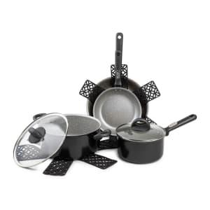 Core Home Satellite 8-Piece Nonstick Cookware Set for $60