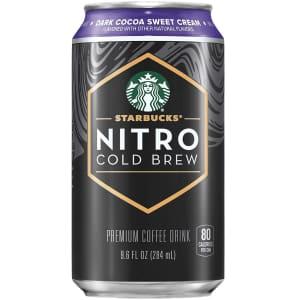 Starbucks 9.6-oz. Nitro Cold Brew 8-Pack for $18 w/ Prime