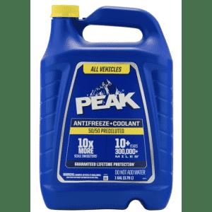 Peak 50/50 Antifreeze/Coolant 1-Gallon Jug for $4.99 for Ace Rewards Members