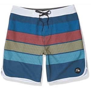 Quiksilver Men's Standard Seasons Beachshort 19 Boardshort Swim Trunk, Majolica Blue, 40 for $53