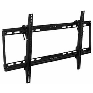 Mount-It! Slim Tilting TV Wall Mount   Low Profile Bracket for 32-75 TV   Universal VESA for $28
