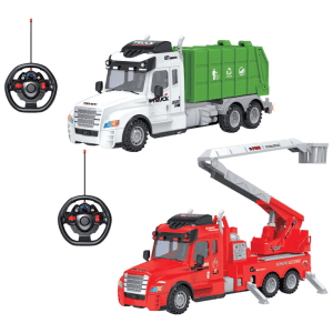 Rugged Racers Remote Control Tuff Truck for $19