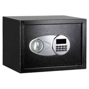 Amazon Basics 0.5-Cu. Ft. Steel Safe for $36 w/ Prime