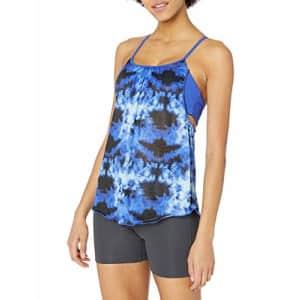 SHAPE activewear Women's Macrame Forgiving Tank, Surf Blue, Small for $51
