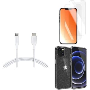 Amazon Basics iPhone 13 Accessories and Bundles: from $7.29