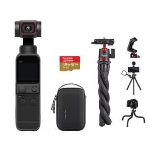 DJI Pocket 2 Gimbal Camera Bundle for $379
