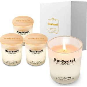 Housecret 8-oz. Candle 4-Pack for $12