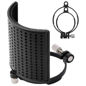 Moukey Microphone Pop Filter for $3