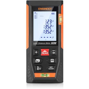 Engindot Digital Laser Distance Measure for $20