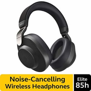Jabra Elite 85h Wireless Noise-Canceling Headphones, Titanium Black Over Ear Bluetooth Headphones for $127