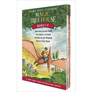 Magic Tree House Boxed Book Set for $4