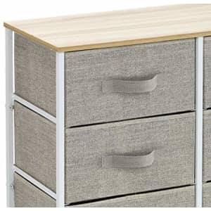Sorbus Dresser with 8 Drawers - Furniture Storage Chest Tower Unit for Bedroom, Hallway, Closet, for $65