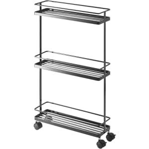 Yamazaki Home Rolling Kitchen Storage Cart for $40