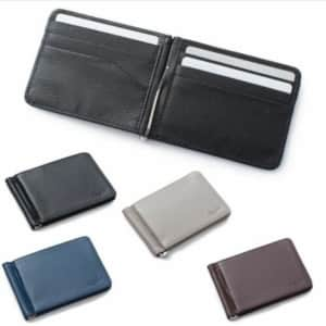 Zodaca Thin Wallet w/ Removable Money Clip for $6