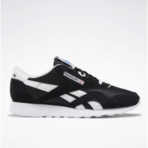 Reebok Men's Classic Nylon Shoes for $33