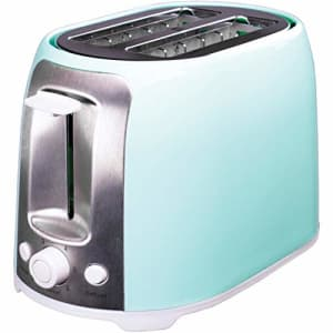 Brentwood TS-292BL Cool Touch 2-Slice Extra Wide Slot Toaster, Blue for $24