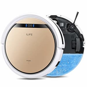 ILIFE V5s Pro, 2-in-1 Robot Vacuum and Mop, Slim, Automatic Self-Charging Robotic Vacuum, Daily for $160