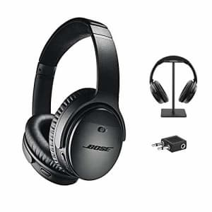 Bose QuietComfort 35 Series II Wireless Headphones, Black, Noise Cancelling with Budrug LLC for $339