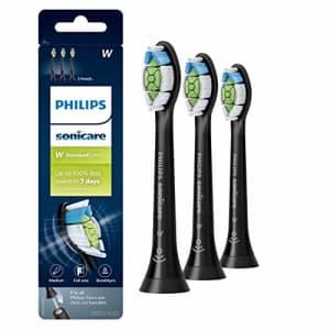 Genuine Philips Sonicare DiamondClean Toothbrush Head, 3 Pack, Black, HX6063/95 for $36