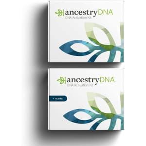 AncestryDNA and AncestryDNA + Traits Bundle for $208