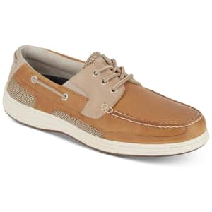 Dockers Men's Beacon Leather Casual Boat Shoes for $48