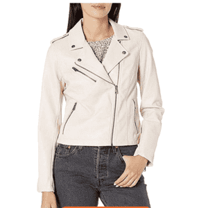Levi's Women's Faux Leather Motorcycle Jacket for $50