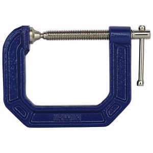 IRWIN Tools QUICK-GRIP C-Clamp, 2-1/2-inch, 2-1/2-inch Throat Depth (2025103) for $13