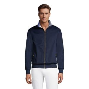 Lands' End Men's Reversible Cotton Bomber Jacket for $22
