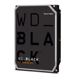 "WD Black 4TB 3.5"" SATA 6Gbps Internal Hard Drive for $150"
